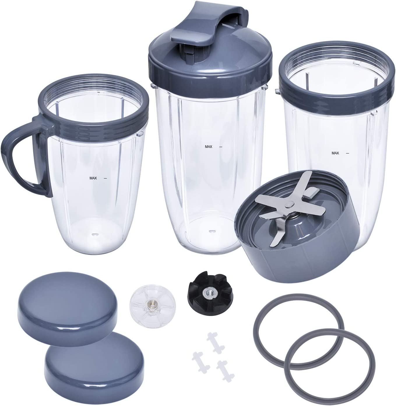 16-Piece Upgraded Parts Animer and price revision kit Cups Gear Lids Gas Blade 35% OFF Set