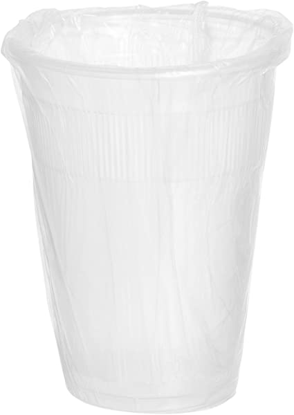 Crystalware IW9PPC1000 PP Individually Wrapped Disposable Plastic Cups 9 Oz Pack Of 1000