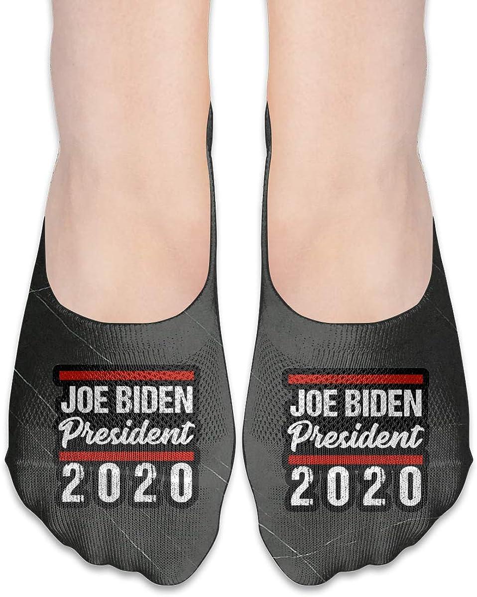 2020 Vote Joe Biden Fashion Non Slip Flat Boat Line Socks For Womens Girls