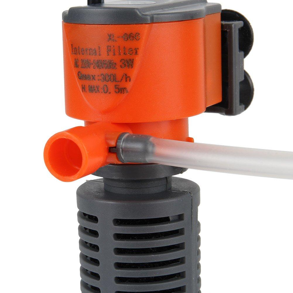 Hrph Mini 3 en 1 Multi-función de Acuario Purificador de Agua del ...