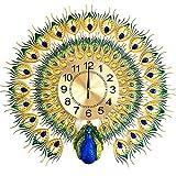 MagicPro Peacock Wall Clock Big Size