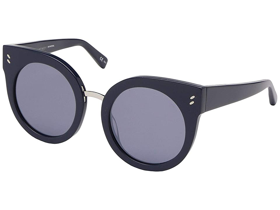 Stella McCartney SC0036S (Blue/Blue/Silver) Fashion Sunglasses