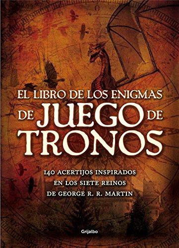 El libro Enigmas Juego Tronos: 140 acertijos inspirados