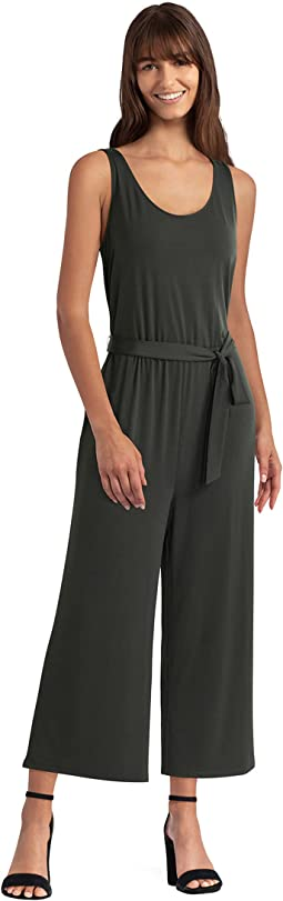Belted Knit Jumpsuit