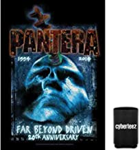 Cyberteez Pantera Far Beyond Driven 20th Anniversary Tapestry Cloth Poster Flag Wall Banner + Coolie