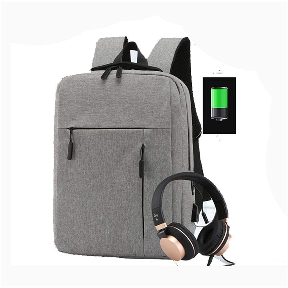 Cross Border Supply Of Goods Logo Customizable Usb Backpack Casual MenS Business Bag Laptop A Generation Fat