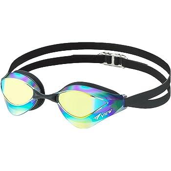 ビュー(VIEW) スイミング 競泳用 ゴーグル ミラータイプ ブレードオルカ Fina承認 V230MRC SKOR