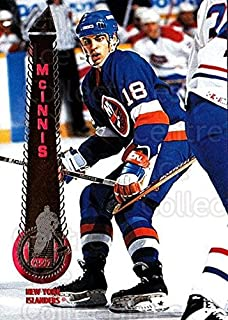 (CI) Marty McInnis Hockey Card 1994-95 Pinnacle (base) 153 Marty McInnis