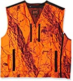 Mountain Pass Extreme Big Game Blaze Vest (Orange Camo, Medium)
