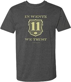 in Wentz We Trust Gray Short Sleeve T-Shirt - Comfortable
