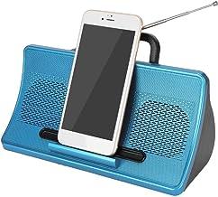 Bluetooth Speaker - Wireless Bt Speaker Soundbox with Mobile Phone Bracket Home Audio Equipment Support: Hands-Free/Blueto... photo