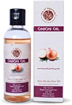 Joy of Ayurveda Natural Non Sticky Onion Oil For Hair Growth Women Men - 210 Ml Suitable For All Hair Type