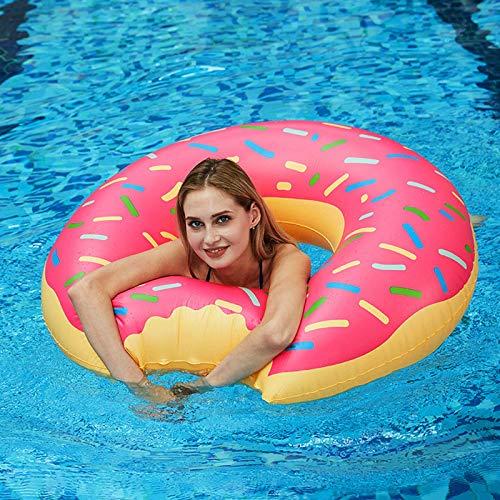 GUBOOM Schwimmring Erwachsene, Schwimmring Donut Aufblasbarer Schwimmring 120cm Großes Sommer Wasser Spielzeuge Strandspielzeug Schwimm Ring Schwimmsessel Schwimmreifen Erwachsene