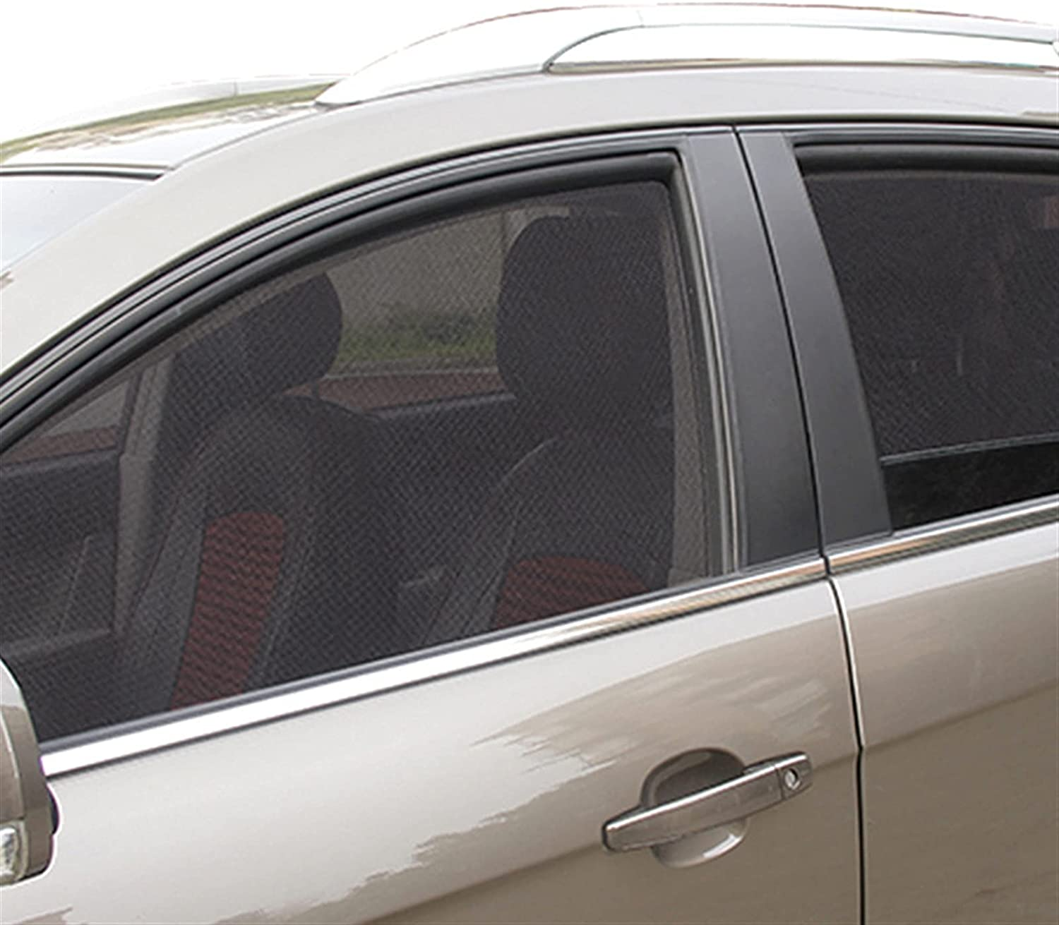 UIOP 2Pcs Magnetic Car Sun UV Protection Max 54% OFF Shade Opening large release sale Curtain W
