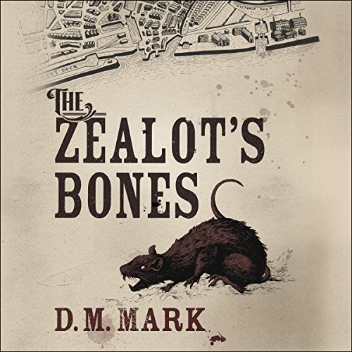 The Zealot's Bones audiobook cover art