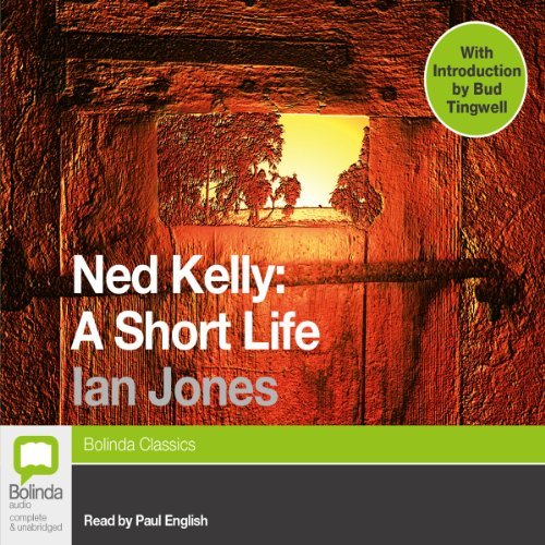 Ned Kelly audiobook cover art