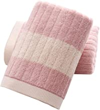 YAMAMA Hand Towels , Striped Pattern 100% Cotton Decorative Highly Absorbent Soft Face Towel for Bathroom 13x 30 Inch Set ...