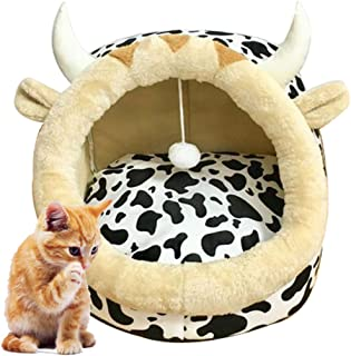 Legendog Pet Cave Warm Washable Removable Dog Bed Cave Cat Bed House Dog Sleeping House Puppy Bed House