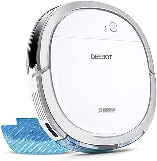 【細菌除去率99%】エコバックス ECOVACS DEEBOT OZMO Slim11 床拭きロボット掃除機 フローリング掃除 畳掃除 超薄型 水拭き対応 モップ付け 自動拭き掃除 Alexa対応 スマホ連動 1年延長保証