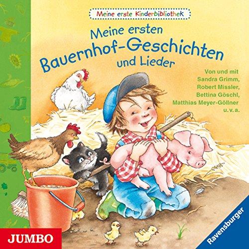 Meine ersten Bauernhof - Geschichten und Lieder (Meine erste Kinderbibliothek) Titelbild