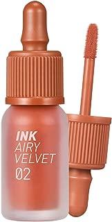 Peripera Ink Airy Velvet 0.14 Ounce 02 Selfie Orange Brown (NEW)