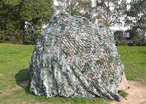 zhangchao Camo Netting - Woodland Military Mesh,Reticolato della Maglia del Cammuffamento,Camonetting Perfetto per La Caccia da Campeggio,Decorazione del Partito A Tema Militare,Digital,20×30m