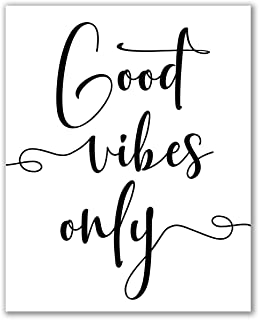 Good Vibes Only Print - 8