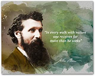 John Muir Quotes Wall Art, 8