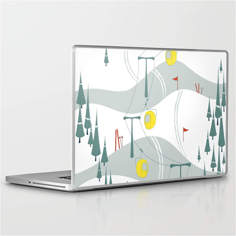 Retro Ski by Miyatake Designs Product on Laptop L PC Tablet Minneapolis Mall Skin 15