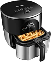 ARLIME Electric Air Fryer, Stainless Steel, 3.5QT, 1300W