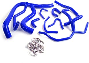 Silicone Radiator Hose Kit Clamps For 1990-1993 HONDA ACCORD CB7 F22A F20A 1991 1992 Blue