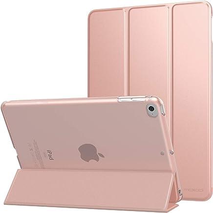 """MoKo Compatible con New iPad Mini 5th Generation 7.9"""" 2019/iPad Mini 4 2015 Funda, Delgado y Ligero Protector con Magnética Función de Cargar/Par y Auto Sueño/Estela - Oro Rosa"""