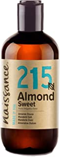 Naissance Aceite de Almendras Dulces n. º 215 – 250ml - 100% natural para humectar y equilibrar la piel hidratar el cabel...