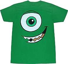 Disney Monsters Inc Mike Wazowski Face T-Shirt