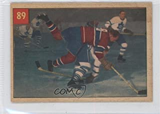Floyd Curry (Hockey Card) 1954-55 Parkhurst - [Base] #89
