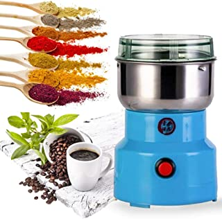 Multifunction Electric Smash Machine,Electric Coffee Bean Milling Smash Machine,Household Electric Cereals Grain Seasoning...