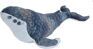 "Wild Republic Humpback Whale, Stuffed Animal, Plush Toy, Gifts for Kids, Cuddlekins, 20"", Cuddlekins/ (22472)"