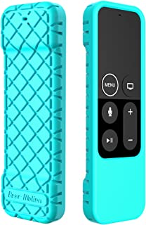 Bear Motion Case for Apple TV 4K / 4th Gen Remote Controller - Silicone Shock Resistant Cover for Apple TV 4K Siri Remote Controller (Case for Apple TV 4K / 4th Gen Remote, Green)