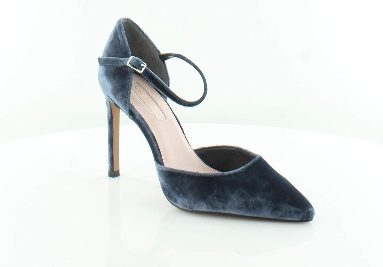Avec Les Filles Carly Women's Heels, Midnight Navy, Size 9.0
