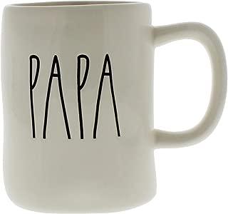 Rae Dunn Magenta Ceramic Mug Papa