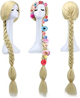 tangled rapunzel wig for adults