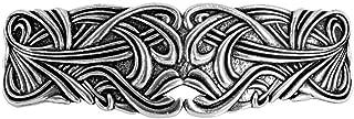 Art Nouveau 漩涡发夹 - 手工制作金属发夹 美国制造,带进口法国发夹 Oberon Design 制造