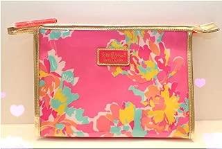 Estee Lauder Lilly Pulitzer Floral Print Waterproof Cosmetic Bag