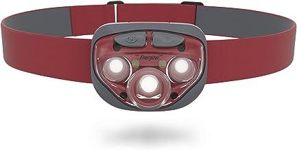 Energizer Amazon Vision HD+ Focus 315 hoofdzaklamp, koplamp (inclusief batterijen), rood