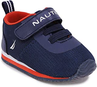 Nautica Tiny River 2, Baby Prewalker,Velcro Crib Sneakers,Toddler/Infant Soft Sole Shoes