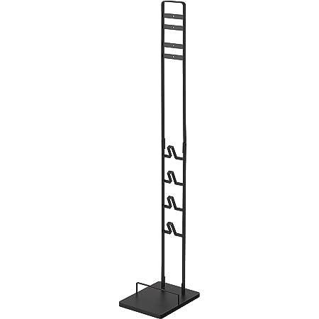 山崎実業(Yamazaki)コードレスクリーナースタンド ブラック 約W22XD29XH127㎝ SV18 V15 V12 V8 V7 V6 シリーズ対応 タワー 3541