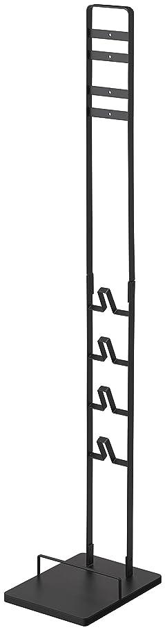 山崎実業 コードレスクリーナースタンド タワー V8 V7 V6 シリーズ対応 ブラック 約22X29X127cm tower 3541