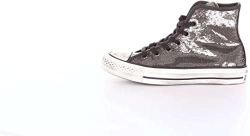 Converse Chuck Taylor CTAS Distressed Hi, paniers Basses Femme