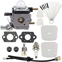 Hayskill C1U-K54A Carburetor with Air Filter Repower Kit for Mantis Tiller 7222 7222E 7222M 7225 7230 7234 7240 7920 7924 Cultivator TC-210 TC-210i TC-2100 C1U-K46 C1U-K82 C1U-27 C1U-K17
