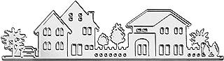 Gosear Troqueles Scrapbooking Hojas - Hermosa casa y el á